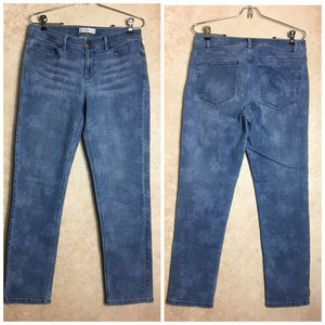 J. Jill Size 6 Jeans Authentic Fit Slim Ankle